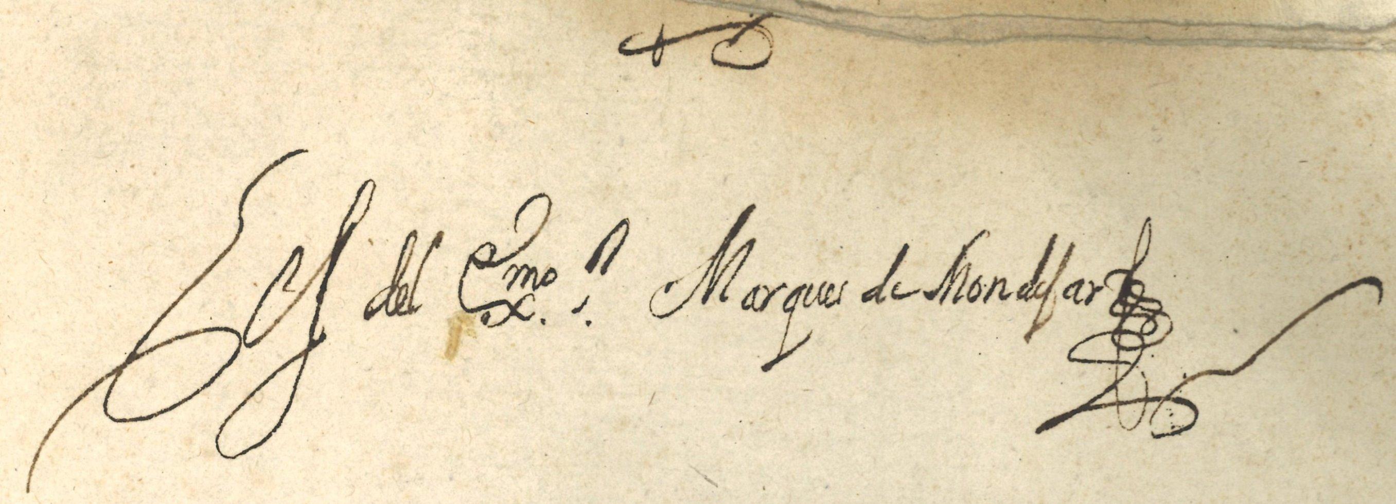 """Anotación manuscrita de propiedad en contracubierta posterior: """"Es del Excmo. Marqués de Mondéjar"""""""